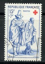 STAMP / TIMBRE FRANCE OBLITERE CROIX ROUGE  N° 1140 JACQUES CALLOT