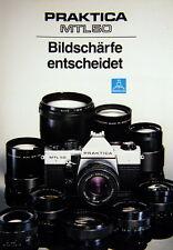 PRAKTICA MTL 50 Bildschärfe entscheidet Prospekt brochure - (0410)