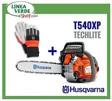 TRONCONNEUSE HUSQVARNA T540 XP PROFESSIONEL TAILLE + GANTS CLASSIC - GUIDE 30 CM
