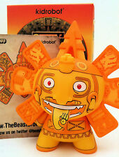 "DUNNY 3"" AZTECA 2 SERIES BEAST BROTHERS GOLD CHASE VARIANT KIDROBOT 2011 VINYL"
