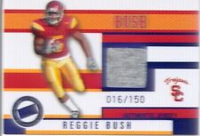 reggie bush rookie rc jersey shirt patch dolphins usc trojans college #/150