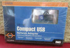 Linksys 10/100 Compact USB Network Adapter USB 1.0 USB100M Factory Sealed Box!