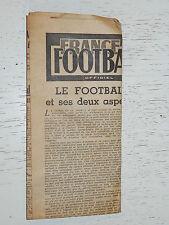 FRANCE FOOTBALL OFFICIEL HEBDOMADAIRE FFF N°445 28/09 1954