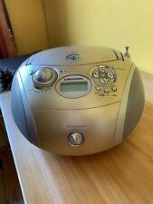 GRUNDIG RCD 1445 USB TRAGBARER CD PLAYER RADIO CASSETTE RECORDER MIT USB EINGANG