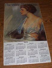 "Theatre Magazine 1975 Calendar 10"" x 19.5"" Single Page Portal Publications Used"
