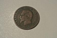 NAPOLEON III 5 CENTIMES TETE NUE 1857 B TB A SAISIR  monnaie RARE !!