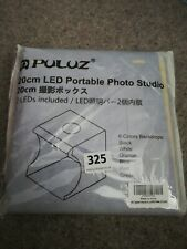 PULUZ Mini LED Photography Light Lamp 20CM Lightbox Photo Studio Shooting Tent