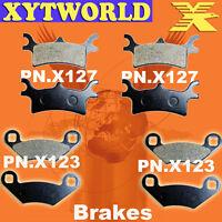 FRONT REAR Brake Pads POLARIS ATV 500 Sportsman EFI Quad H.O. 2008-2012 2013