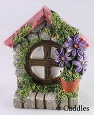 Fairy Garden Window Mini Figurine Ganz Outdoor Fantasy Plant Purple Flower New