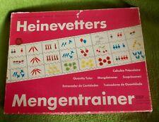 Heinevetters Trainer Set * Mengentrainer - Spiel  für  Kindergarten,Vorschule...