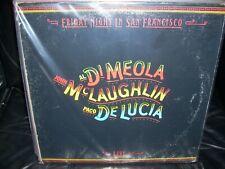 AL DI MEOLA friday night in san francisco & land of midnight ( jazz ) 2 LP LOT