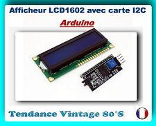 *** MODULE AFFICHEUR LCD 1602 BLEU AVEC CARTE INTERFACE I2C / ARDUINO ***