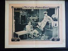 1918 A PERFECT 36 - SILENT LOBBY CARD - CROSS-DRESSING - GAY TRANS INTEREST