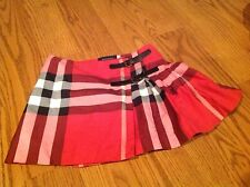 AUTHENTIC BURBERRY KILT WRAP SKIRT SIZE: 4