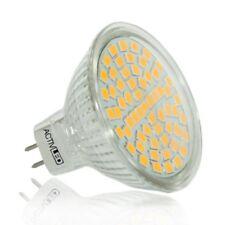 1x MR16 LED Spot SMD 2835 Leuchtmittel 300lm-320lm 12V Warmweiß 2700K Schutzglas