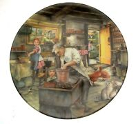 Royal Doulton Old Country Crafts The Potter Susan Neale Plate NOT PERFECT