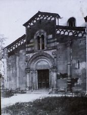 Santa Fede Abbey in Cavagnolo ITALY Vintage Magic Lantern Glass Photo Slide
