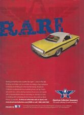 "1967-1968-1969 PLYMOUTH BARRACUDA ""MOD-TOP""  ~  NICE INSURANCE AD"