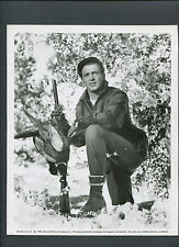 ROCK HUDSON WITH RIFLE AND PHESANTS - 1955 ALL THAT HEAVEN ALLOWS - HUNTING