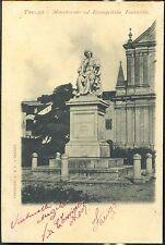 1900 - Faenza - Monumento ad Evangelista Torricelli