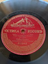 "78rpm ENRICO CARUSO Victrola 87042 Pour Un Baisers (Costi) 10"" Single Sided"