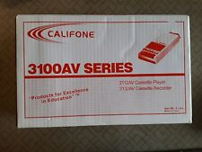 Califone 3100Av Series Audio Cassette Tape Player Recorder Brand New In Box 11-9