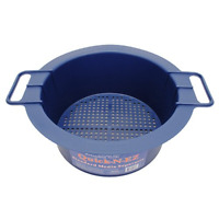 Standard Media Separator with Perforated Sifter and Mesh Strainer For Reloading