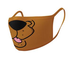 Scooby Doo Set of 2 Face Masks (py)