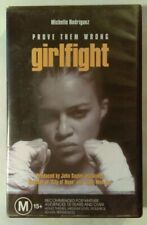 GirlFight Vhs 2000 Drama Karyn Kusama Michelle Rodriguez Tribe Large Case