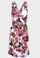 Polyester Knee Length Casual Sundresses for Women