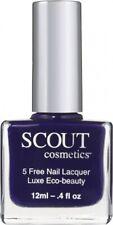 Scout Nail Polish Surrender Yourself Dark Purple 12ml Vegan Breathable 5-Free