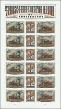 US 5378-5380 5380a Transcontinental Railroad forever sheet MNH 2019