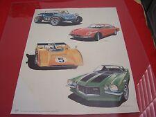 "John Peckham's art, "" Four special cars, "" - Kensington Corps Advertising poster"