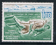 French Antarctic/TAAF 1989 Diving in Adelie Land SG 248 MNH