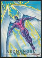 1992 Marvel Masterpieces Trading Card #8 Archangel