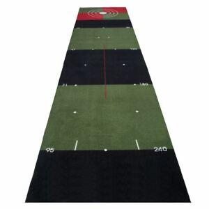 3M Meter Indoor Golf Practice Putting Mat Green Training Aid Putter Trainer