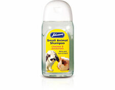 Johnson's Small Animal Shampoo Cleanses Deodorises Rabbits Guinea Pigs Ferrets
