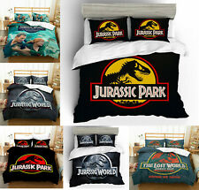 Jurassic Park Bedding Set 3PCS Bedding Set Duvet Cover Pillowcases Quilt Cover