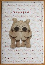 "'You're Engaged' Tedmund Ted Engagement Card - 8.25""x5.5"" Clintons"