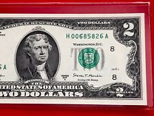 NEW 2017-A $2 TWO DOLLAR BILL ( ST LOUIS H )   Uncirculated
