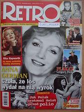 RETRO 9/2015 ANNA GERMAN,Richard Chamberlain,Gregory Peck,Queen/Freddie Mercury