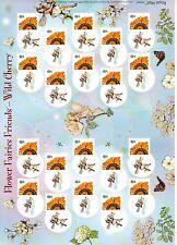 Rare!!  LS61 FLOWER FAIRY FRIENDS  GENERIC SMILERS FOR KIDS  FULL  SHEET