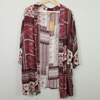 LEE COOPER | Womens Print Kimono Top NEW [ Size AU 12 or US 8 ]