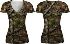 Womens Skull Camo Girl Backwoods T Shirt 2XL SC50512M Lethal Threat