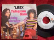 T. Rex - Telegram Sam / Baby strange       German Ariola 45