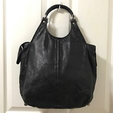Sale! Authentic BALENCIAGA BLACK LEATHER Handbag