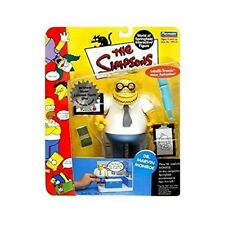 The Simpsons Dr Marvin Monroe Action Figure Playmates Toys NIB TV Show Fox