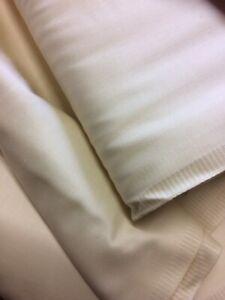 "CURTAIN LINING CREAM 54""(140)CM WIDE HEAVY WEIGHT DB1 Lining Fabric"