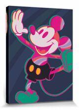 Micky Maus - Disney Cartoon Film Poster Leinwand-Druck Bild (80x60cm) #115466