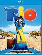 Rio (Blu-ray Disc, 2014) (NEW)